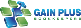 Gain Plus Bookkeepers Logo